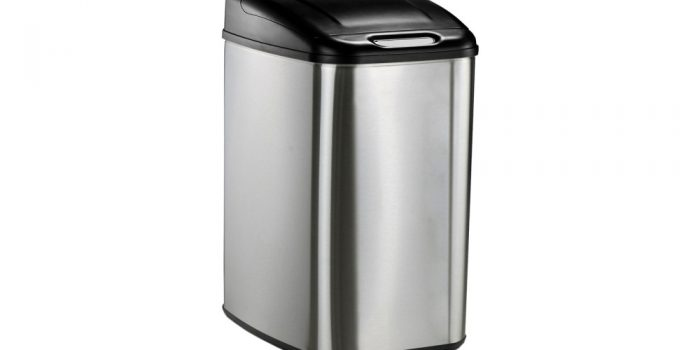 Levpet 13-Gallon Touch-Free Trash Can